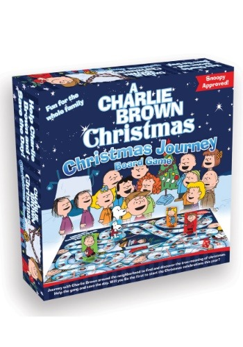 Peanuts- A Charlie Brown Christmas Journey Board Game