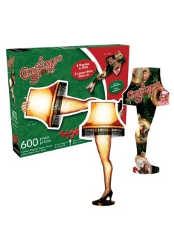 A Christmas Story- Leg Lamp and Collage 600 Piece