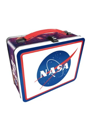 I Need My Space NASA Metal Lunchbox