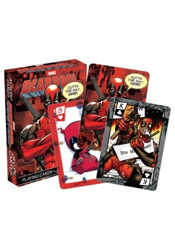 Marvel- Deadpool Playing Cards