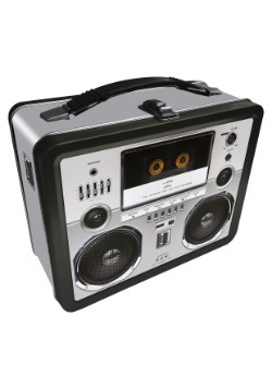 Boombox Metal Lunchbox