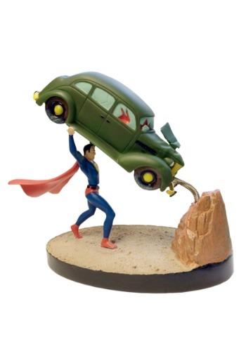 Superman Action Comics #1 Premium Motion Statue