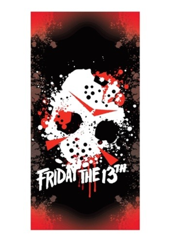 Friday The 13th Jason's Mask Beach / Bath Towel