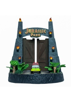 Jurassic Park Gates Environment Sculpture