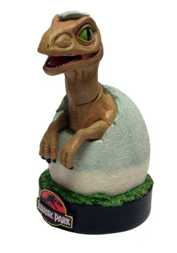 Jurassic Park Raptor Hatchling Premium Motion Statue