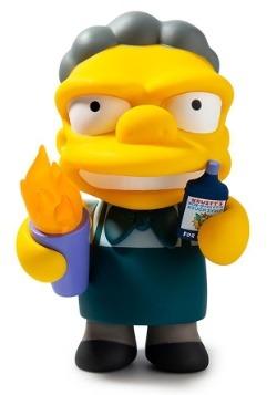 The Simpsons Flaming Moe Medium Figure