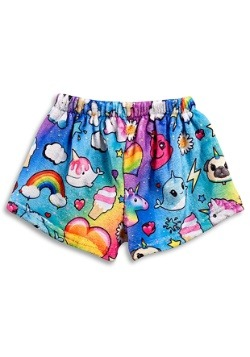 I Dream of Unicorns Kids Fuzzy Lounge Shorts1