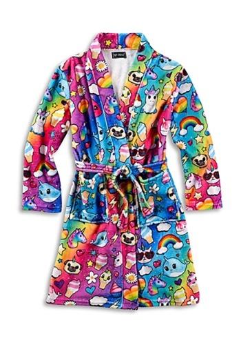 Kids Bath Robe I Dream of Unicorns