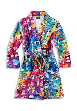 Kids Bath Robe I Dream of Unicorns