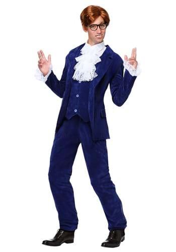 Deluxe Blue 60's Swinger Mens Costume