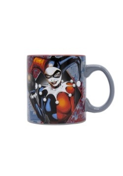 Harley Quinn in Diamond 20 oz Jumbo Ceramic Mug