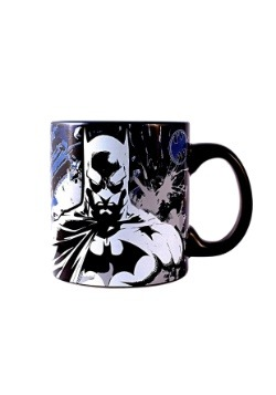 Batman Splatter 20 oz Glow in the Dark Jumbo Ceramic Mug