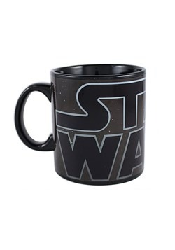 Star Wars Classic Logo 20 oz Heat Reveal Jumbo Ceramic Mug