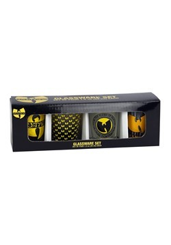 Wu-Tang Clan Logo 4 pc Mini Glass Set