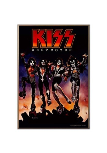 "KISS Destroyer 13"" x 19"" Wood Wall Décor"