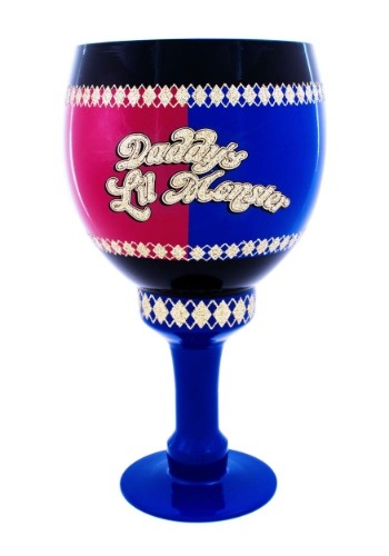 Harley Quinn Daddy's Little Monster 40 oz Goblet