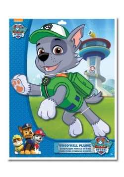 "Rocky Paw Patrol 13"" 2-Layer Die Cut Plaque"