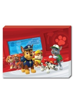 "Marshall Paw Patrol 12"" x 16"" Portrait Canvas with LED"
