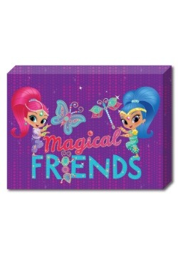 "Shimmer and Shine Friends10""x13.5"" Canvas"