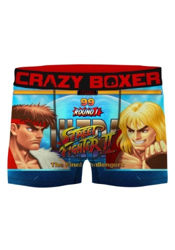 Crazy Boxers Men's Street Fighter II Boxer Briefs