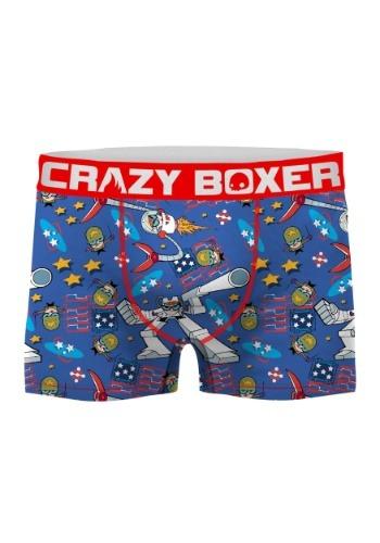 Crazy Boxers Men's Dexter's Laboratory Boxer Briefs