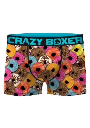 Crazy Boxers Men's Donuts Boxer Briefs