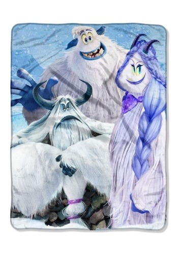"Smallfoot Snow Friends 46"" x 60"" Super Soft Throw"