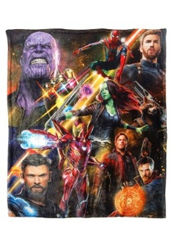 "Avengers Infinity War 50"" x 60"" High Def Throw"