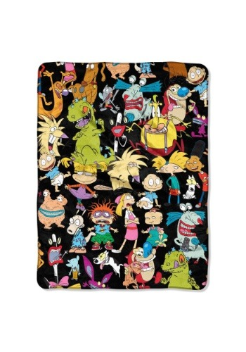 "Nickelodeon Nick Rewind 46"" x 60"" Super Soft Throw"