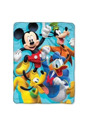 "Mickey Mouse Roadster Racers 46"" x 60"" Super Soft Throw"