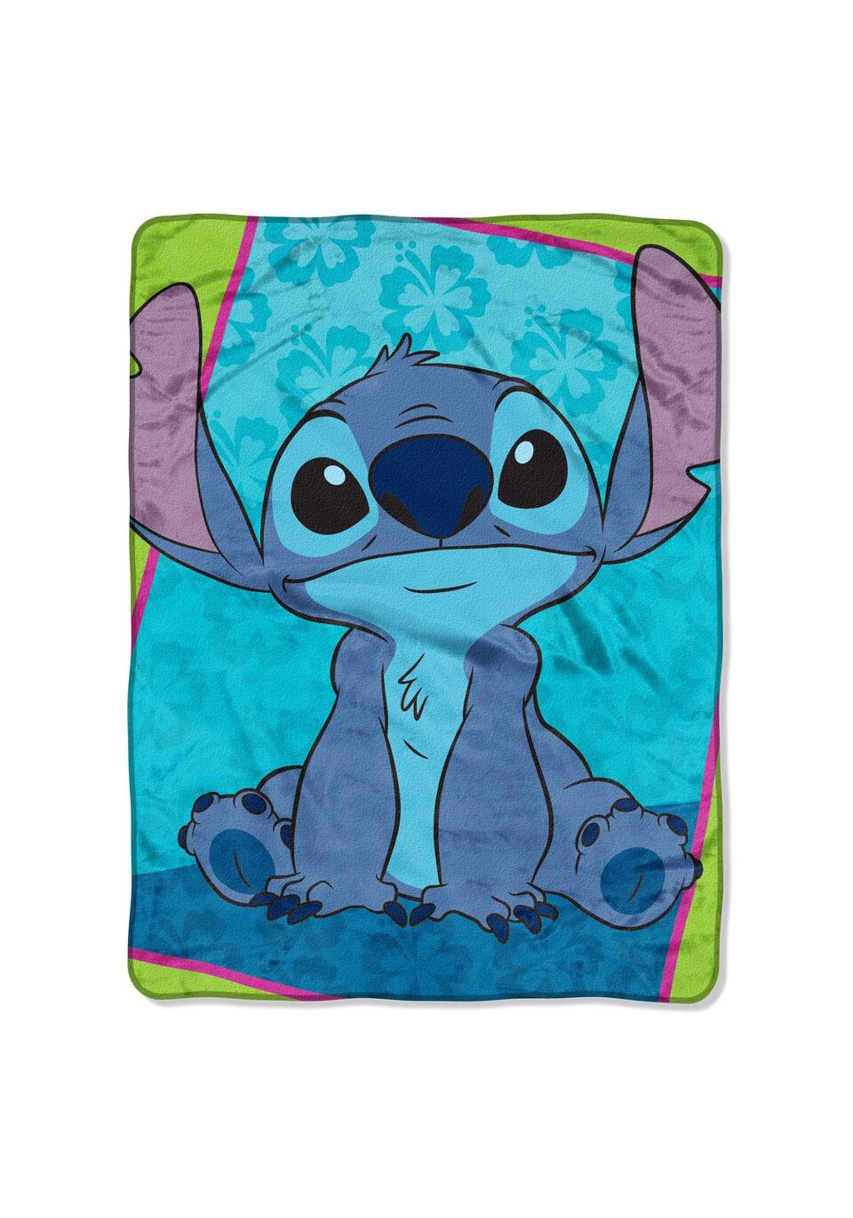 Lilo Stitch Bad But Cute 46 X 60 Super Soft Throw