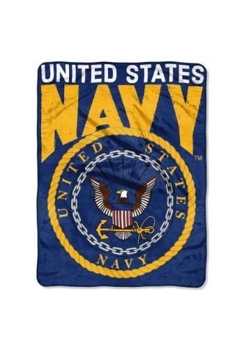 "United States Navy 46"" x 60"" Super Soft Throw"