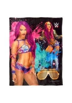 "WWE Sasha Banks 46"" x 60"" Super Soft Throw"