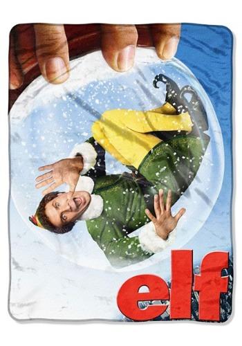 """Elf Buddy Globe 46"""" x 60"""" Super Soft Throw"""