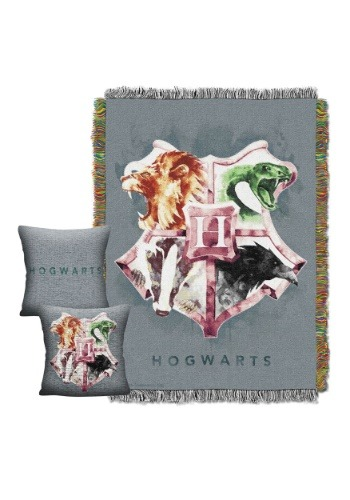 Harry Potter House of Hogwarts Throw & Pillow