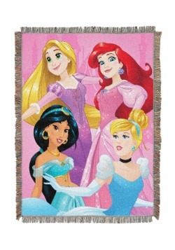 Disney Princesses Born to Rule Woven Tapestry Throw