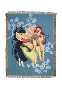 Mulan Tapestry Throw