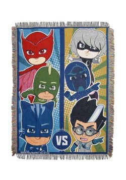 PJ Masks Good vs Evil Tapestry Throw