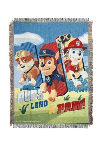 Paw Patrol Tapestry Throw