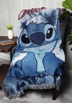 Lilo & Stitch Shibori Stitch Tapestry Throw_update