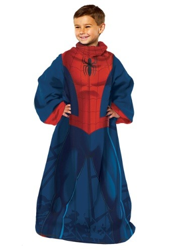 Spider Man Child Comfy Throw