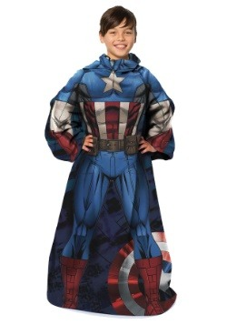 Captain America Child Comfy Throw
