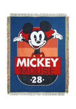 Mickey Mouse 1928 Tapestry Throw