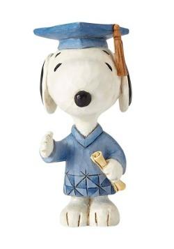 Peanuts Snoopy Graduate Mini Figurine