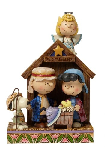 Peanuts Christmas Pageant Figurine