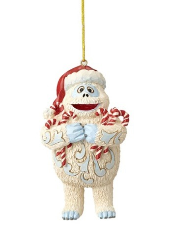 Bumble Holding Candy Canes Ornament