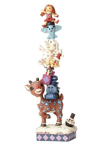 Rudolph with Stacked Misfits Statue