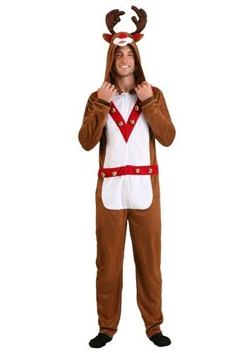 Adult's Reindeer Union Suit