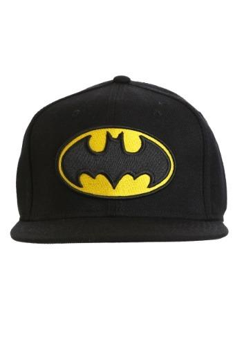 Batman Logo Snap Back Hat