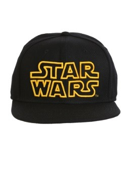 Star Wars Original Logo Snap Back Hat